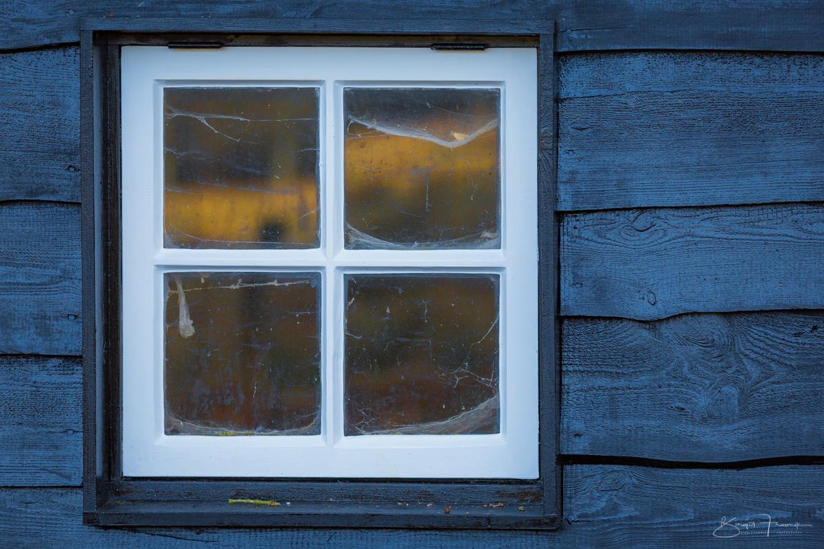 Fenster im Hoge Veluwe in den Niederlanden